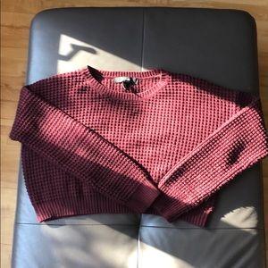 Burgundy forever 21 sweater